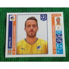 Football Soccer Sticker Panini UEFA Champions League 2014 #486 Apoel FC