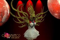 Charismatico Dancewear Store - CHARISMATICO Amber edged Stylized golden angel wings and matching tall headdress, $270.00 (http://www.charismatico-dancewear.com/charismatico-amber-edged-stylized-golden-angel-wings-and-matching-tall-headdress/)