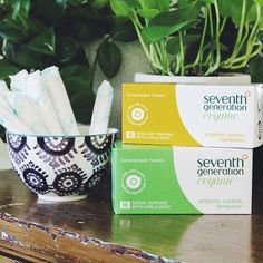 Our tampons are made from certified organic cotton and are free of added dyes & fragrances. You can find our entire line of feminine care products online or at a store near you!
