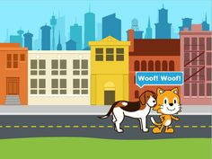 With ScratchJr, young children (ages can program their own interactive stories and games. Tools For Teaching, Teaching Materials, Elementary Library, Elementary Schools, Computational Thinking, Coding Languages, Interactive Stories, Coding For Kids, Ipad Art