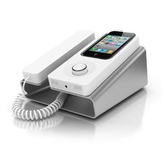 Desk Phone Dock for iPhone by Kee