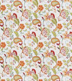 Upholstery Fabric-Tropix Gould Tiger Lily at Joann.com