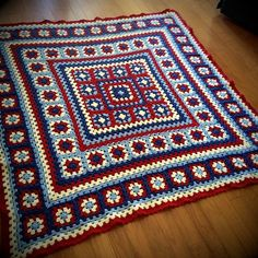 Ravelry: Project Gallery for Wendy Blanket pattern by Wendy de Haas - quilt patterns Crochet Afghans, Crochet Quilt, Love Crochet, Crochet Stitches, Baby Afghans, Crochet Square Patterns, Crochet Squares, Crochet Blanket Patterns, Knitting Patterns