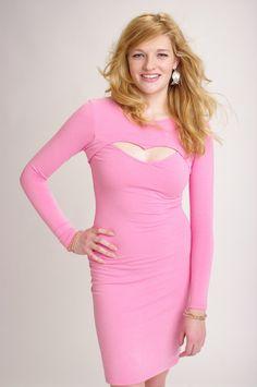 PINK sweet heart dress....