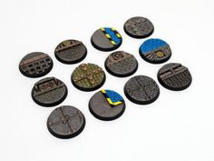 32mm Sci-Fi Bases 12-PACK | Etsy