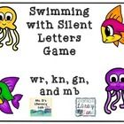 Looking for a fast paced game for summer time ? Take a peek at this colorful literacy center idea. For all those silent letters (gn, wr, kn, mb) th...