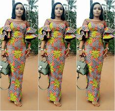 29 Royal Asoebi Styles For Posh Slay Queens - AfroCosmopolitan African Fashion Ankara, African Inspired Fashion, Latest African Fashion Dresses, African Dresses For Women, African Print Fashion, Africa Fashion, African Attire, African Wear, African Women