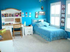 Bedroom+Design+Ideas+For+Teenage+Girls+blue | Ideas for a Blue Teenage Girl's Bedroom » Teenage-Girls-Bedroom ...