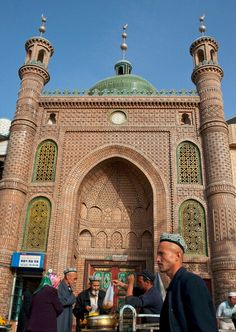 Khotan Mosque was built in 1870 -China