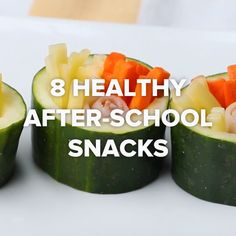 8 Healthy After-School Snacks // #snacks #healthy #afterschool #kids #Goodful