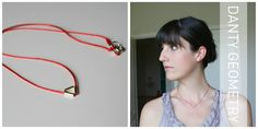 A Place in the Cloud: Danty Geometric Necklace Tutorial