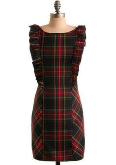 Pretty in Plaid Dress, #ModCloth