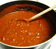 Here ia another healthy and cheap homemade sauce   3 Steps Homemade -Low Salt Spaghetti Sauce     List of Ingredients    2 Med Onions, chopped    1 tsp PAM oil    2 Cloves minced Garlic    4 8 oz cans no-salt tomatoes    2 6 oz cans no-salt tom...