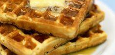 Waffles con harina de hotcakes, agregar a esta receta 3/4 más de harina de hotcakes para más crujientes