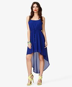 Possible dress for senior pictures  High-Low Chiffon Dress   FOREVER 21 - 2039107042