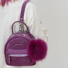 GRAFEA Cute Mini Backpacks, Stylish Backpacks, Girl Backpacks, Grafea Backpack, Backpack Bags, Fashion Bags, Fashion Backpack, Girl Fashion, Kawaii Bags