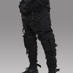 casual mens fashion which looks amazing 14935 Dark Fashion, Gothic Fashion, Men's Fashion, Fashion Design, Fashion Outfits, Fashion Ideas, Mode Cyberpunk, Cyberpunk Fashion, Korean Fashion Trends