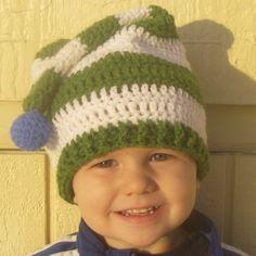 Instant Download - Crochet Pattern - Stocking Cap (Newborn to Toddler)