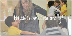 Musically Montessori: With Children, Music Comes Naturally! From Magical Movement Company's Blog.