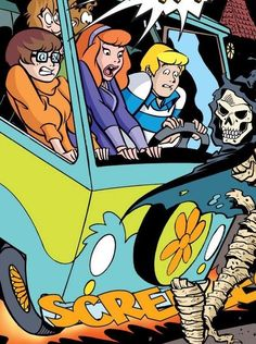 Scooby Doo Scooby Doo Mystery Inc, New Scooby Doo, Realistic Cartoons, Daphne Blake, Scooby Snacks, Drawn Art, Unique Drawings, Neon Wallpaper, Classic Cartoons