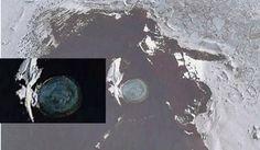 Derretimento do gelo da Antártida revela base alienigena secreta debaixo d'água ~ Sempre Questione