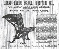 Grand Rapids School Furniture Company Advertisement.