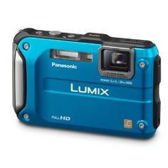 Panasonic Lumix DMC-TS3 12.1 MP Rugged/Waterproof Digital Camera with 4.6x Wide Angle Optical Image Stabilized Zoom and 2.7-Inch LCD (Blue)  byPanasonic  3.9 out of 5 starsSee all reviews(289 customer reviews) | Like (97)  There is a newer model of this item. See details below, or go to the newer item.  List Price:$379.99  Price:$285.99