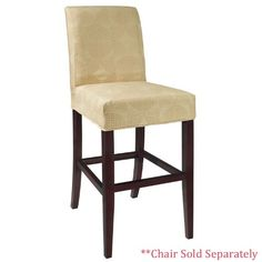 Square Bar Stool Covers Slipcovers Home Furniture Dining Room
