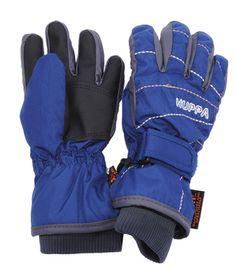 Подробнее о товаре Huppa, Перчатки зимние на липучке Karin (темно-синие)