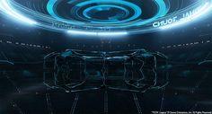 Cool article on concept art for Tron's futuristic Computer GUI