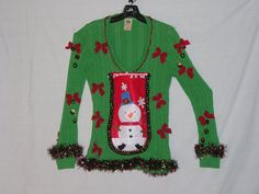 Ugly Christmas Sweater Sweater Party by VintageDesignByVines, $40.00