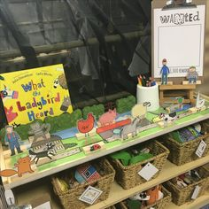 EYFS story shelf - what the ladybird heard by Julia Donaldson