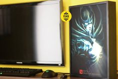 Phantom Assassin Dota 2 Light Box by PineWoodandSpace on Etsy