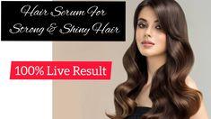 Hair Serum For Hair Growth , Shiny & Strong Hair