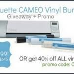 Craftaholics Anonymous® | Silhouette Giveaway + Silhouette Discount