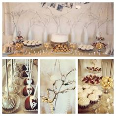 Desserts For Bridal Shower Luncheon  #desserts #bridal #shower