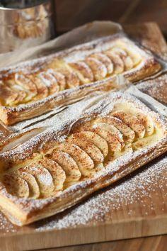 Apfeltarte mit Blätterteig – schnelles Dessert für Gäste