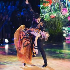 Lindsey on DWTS with Mark Ballas
