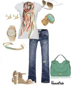 """""""Casual day"""" by hosefish on Polyvore"""