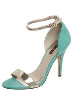 High Heel Sandalette - jade