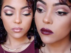 Fall | Holiday Glam Makeup Tutorial With BH Cosmetics Carli Bybel Palette
