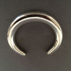 Gallery 925 - Georg Jensen Cuff Bracelet No. A33C by Anne Amitzboll.  Handmade Sterling Silver. #ClayJensenSterlingSilver