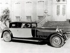 1929 Bugatti Type 41 Royale Coupe body by Weymann
