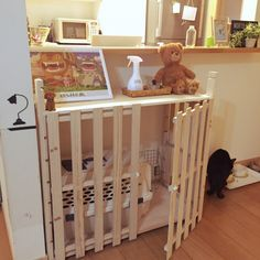 DIY/ペットハウス/犬と猫/いぬ/ねこバカ/リビング…などのインテリア実例 - 2016-02-14 22:21:00 | RoomClip(ルームクリップ)