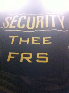 Secure with Thee FRS