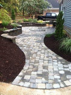 walkway designs and patio designs | Paver Patio/Walkway