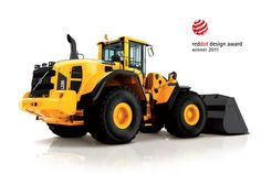 Volvo Construction Equipment L220 Wheel Loader by Jens Andersson, via Behance