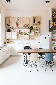 原來牆面可以這樣用,學起來。 這個位於阿姆斯特丹的公寓改修案,由建築師事務所 CASA architecten 和設計師工作室 Standard Studio攜手合作,把原本是學校的建築改造成為一般公寓。設計師善用牆面和梯下空間作為收納和臥室空間,並且把挑高部份做成閱讀工作區和鋼琴區,很棒的公寓設計主意。 via Ons Dorp