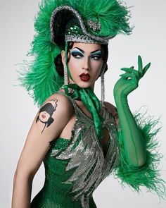 Violet Chachki for Paper Magazine - photo by Michael Avedon