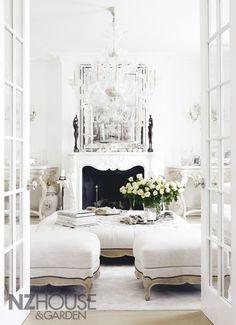 Ideas sala de estar blanca 4